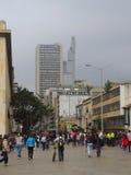 Moderna byggnader i Bogota, Colombia Arkivbild