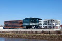 Moderna byggnader i Bremen, Tyskland Arkivfoton