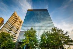Moderna byggnader i Columbia, South Carolina Arkivbild