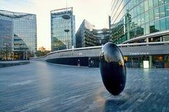 Moderna byggnader i den södra banken - London, UK Fotografering för Bildbyråer