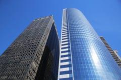 Moderna byggnader i Lower Manhattan Arkivbild