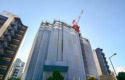 Moderna byggnader i Osaka, Japan Royaltyfria Bilder