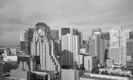 Moderna byggnader i San Francisco Royaltyfria Foton