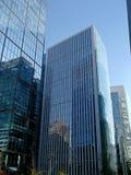 Moderna byggnader i Santiago, Chile Arkivfoton