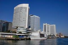 Moderna byggnader i Tokyo, Japan Royaltyfria Bilder
