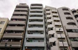 Moderna byggnader i Tokyo, Japan Fotografering för Bildbyråer