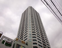 Moderna byggnader i Tokyo, Japan Arkivfoton