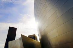 Moderna byggnader Los Angeles Royaltyfria Foton