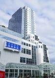 Moderna byggnader på det Kanada stället i Vancouver - VANCOUVER - KANADA - APRIL 12, 2017 Royaltyfria Bilder