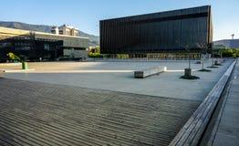 Moderna byggnader på en solig dag Arkivbilder