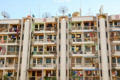 Moderna byggnader på i stadens centrum Yangon Royaltyfri Bild