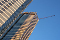 Moderna byggnader - serie Arkivfoton