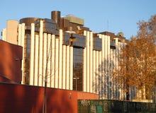 Moderna byggnader in via Trieste i Padua i Veneto (Italien) Arkivfoton