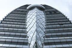 Moderna byggnadsarkitekturdetaljer Arkivfoton