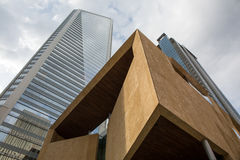 Moderna Charlotte Architecture Arkivfoton