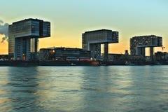 Moderna Cologne royaltyfri bild