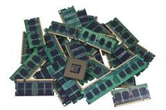 moderna enheter för CPU-minne royaltyfria foton