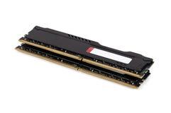 Moderna enheter för RAM minne med det svarta elementet royaltyfri fotografi
