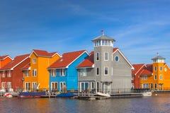 Moderna européUrban byggnader Arkivfoto