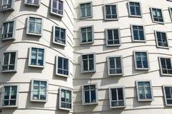 moderna fönster Arkivbilder