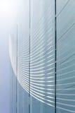 moderna fönster för abstrakt byggnad Arkivbild