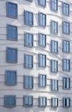 moderna fönster för arkitektur Fotografering för Bildbyråer