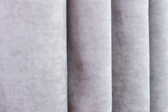 Moderna gardiner stänger sig upp Arkivfoton