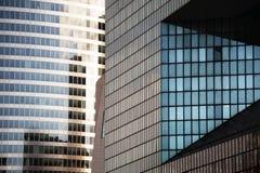Moderna glass byggnader Royaltyfri Foto