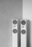 Moderna högtalare för sound system Royaltyfria Bilder