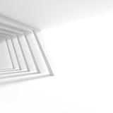 Moderna Hall Interior Design Minsta arkitekturtapet Roo vektor illustrationer