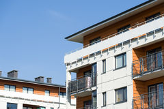 Moderna hus Arkivfoton