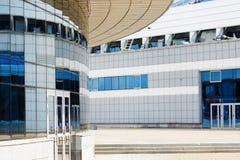 Moderna industriella byggnader Royaltyfri Fotografi