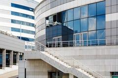 Moderna industriella byggnader Royaltyfri Foto