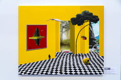 Moderna Istanbul Art Show 2016 Royaltyfri Foto