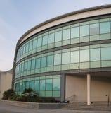 Moderna kontor i Swansea, Wales Arkivbild