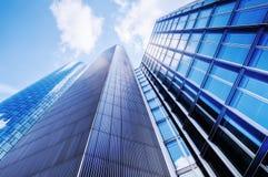 Moderna kontorsbyggnader Royaltyfria Foton
