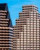Moderna kontorsbyggnader royaltyfri foto