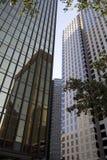 Moderna kontorsbyggnader i Dallas Fotografering för Bildbyråer
