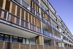moderna lägenheter Arkivbild
