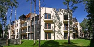 moderna lägenheter Arkivbilder