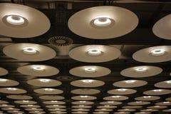 moderna lampor Royaltyfri Fotografi