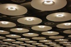 moderna lampor Arkivbild