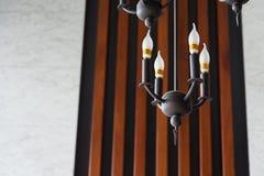 Moderna lampor för ljus kula för stil av hotellet thailand Fotografering för Bildbyråer