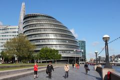 Moderna London Arkivfoto