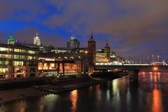 Moderna London Royaltyfri Bild