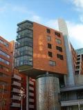 Moderna moderna byggnader Royaltyfri Bild