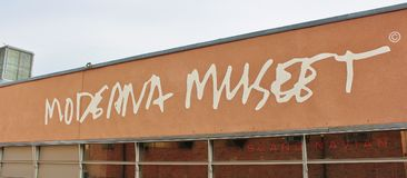 Moderna museet, Stockholm. Moderna museet is a museum of Swedish, Nordic and international modern and contemporary art in Stockholm. The museum`s task is to Royalty Free Stock Images