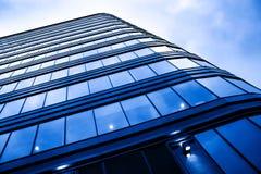 moderna nya skyskrapor Fotografering för Bildbyråer
