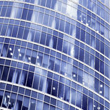 moderna nya skyskrapor för byggnadsaffär Royaltyfria Bilder
