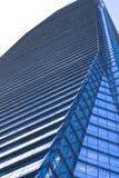 moderna nya skyskrapor för byggnadsaffärsmitt Arkivfoton